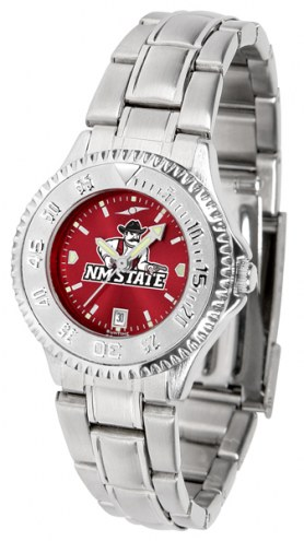 New Mexico State Aggies Competitor Steel AnoChrome Women's Watch
