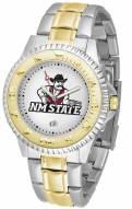 New Mexico State Aggies Competitor Two-Tone Men's Watch