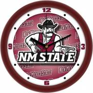 New Mexico State Aggies Dimension Wall Clock
