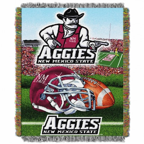 New Mexico State Aggies Home Field Advantage Throw Blanket