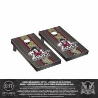 New Mexico State Aggies Operation Hat Trick Stained Cornhole Game Set