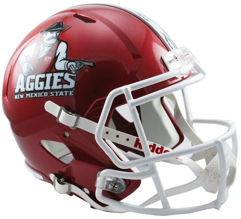 New Mexico State Aggies Riddell Speed Collectible Football Helmet