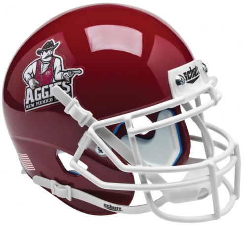 New Mexico State Aggies Schutt XP Collectible Full Size Football Helmet