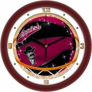 New Mexico State Aggies Slam Dunk Wall Clock