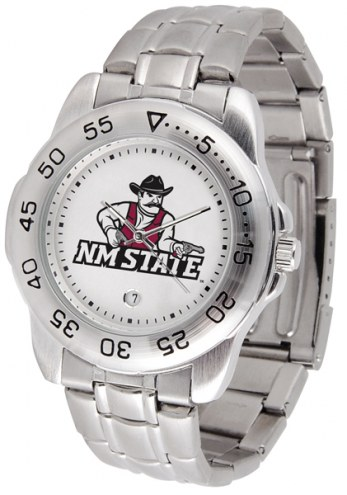 New Mexico State Aggies Sport Steel Men's Watch