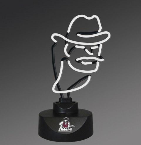 New Mexico State Aggies Team Logo Neon Lamp