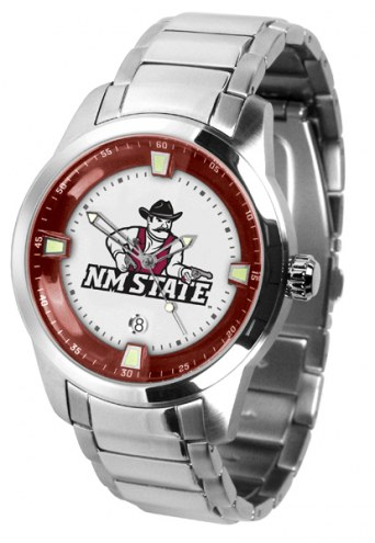 New Mexico State Aggies Titan Steel Men's Watch