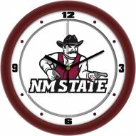 New Mexico State Aggies Traditional Wall Clock
