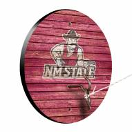 New Mexico State Aggies Weathered Design Hook & Ring Game