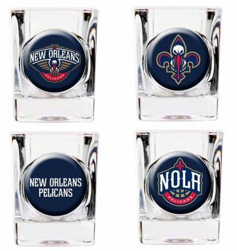 New Orleans Pelicans Collector's Shot Glass Set