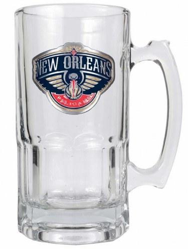New Orleans Pelicans NBA 1 Liter Glass Macho Mug