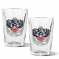 New Orleans Pelicans 2 oz. Prism Shot Glass Set