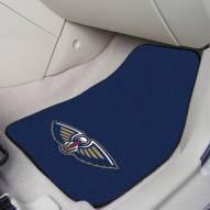 New Orleans Pelicans 2-Piece Carpet Car Mats