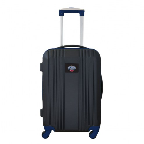 """New Orleans Pelicans 21"""" Hardcase Luggage Carry-on Spinner"""