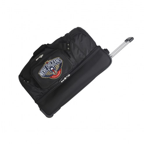 "New Orleans Pelicans 27"" Drop Bottom Wheeled Duffle Bag"