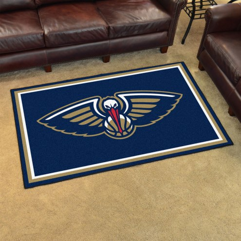 New Orleans Pelicans 4' x 6' Area Rug