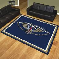 New Orleans Pelicans 8' x 10' Area Rug