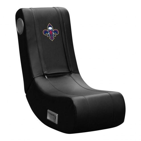 New Orleans Pelicans DreamSeat Game Rocker 100 Gaming Chair