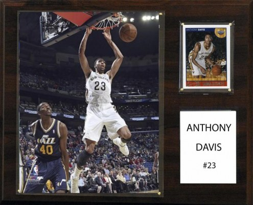 "New Orleans Pelicans Anthony Davis 12"" x 15"" Player Plaque"
