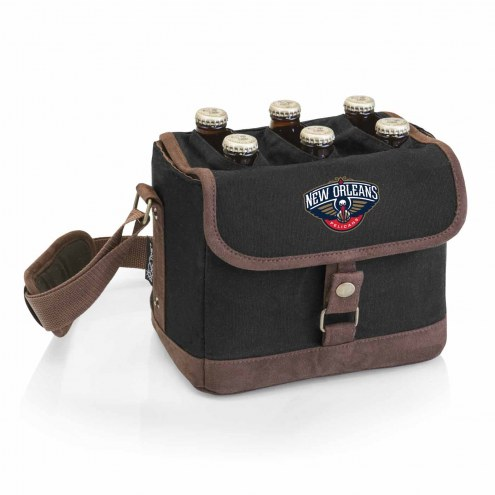 New Orleans Pelicans Beer Caddy Cooler Tote with Opener