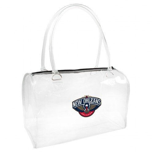 New Orleans Pelicans Clear Bowler