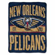 New Orleans Pelicans Clear Out Throw Blanket