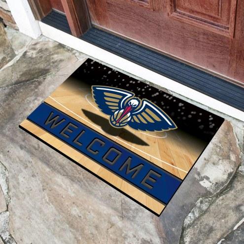 New Orleans Pelicans Crumb Rubber Door Mat
