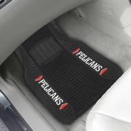 New Orleans Pelicans Deluxe Car Floor Mat Set