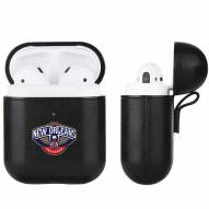 New Orleans Pelicans Fan Brander Apple Air Pods Leather Case