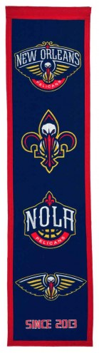 New Orleans Pelicans Heritage Banner