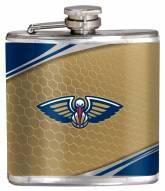 New Orleans Pelicans Hi-Def Stainless Steel Flask
