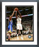New Orleans Pelicans Jrue Holiday Playoff Action Framed Photo
