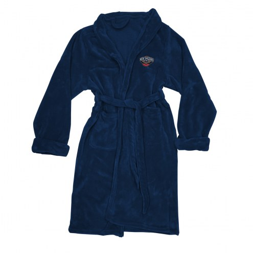 New Orleans Pelicans Men's Bathrobe