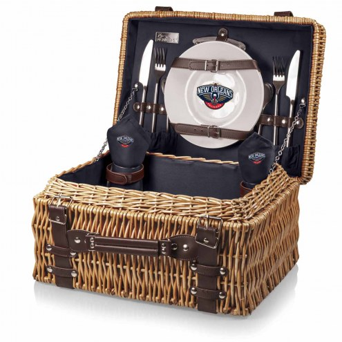 New Orleans Pelicans Navy Champion Picnic Basket