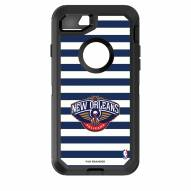 New Orleans Pelicans OtterBox iPhone 8/7 Defender Stripes Case