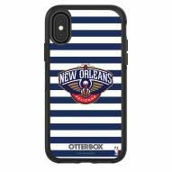 New Orleans Pelicans OtterBox iPhone X/Xs Symmetry Stripes Case