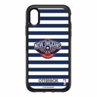 New Orleans Pelicans OtterBox iPhone XR Symmetry Stripes Case