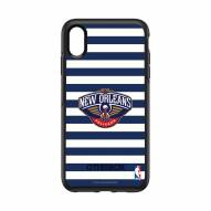 New Orleans Pelicans OtterBox iPhone XS Max Symmetry Stripes Case