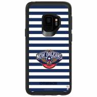 New Orleans Pelicans OtterBox Samsung Galaxy S9 Symmetry Stripes Case