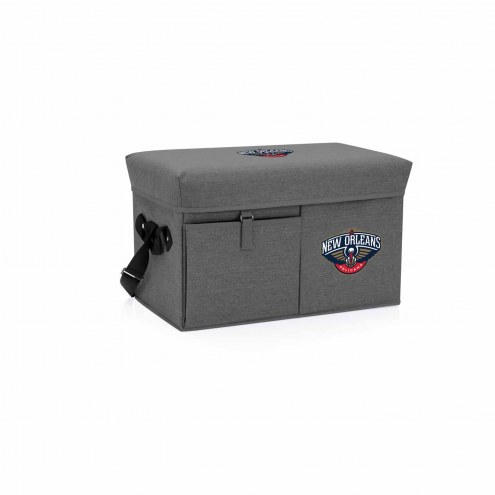 New Orleans Pelicans Ottoman Cooler & Seat