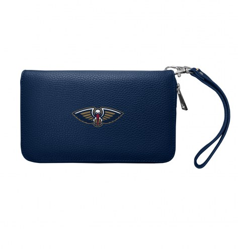 New Orleans Pelicans Pebble Organizer Wallet