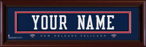 New Orleans Pelicans Personalized Stitched Jersey Print