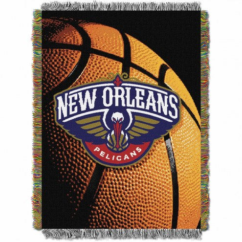 New Orleans Pelicans Photo Real Throw Blanket