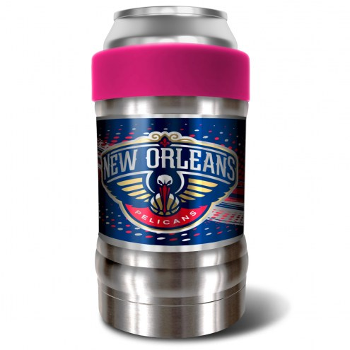 New Orleans Pelicans Pink 12 oz. Locker Vacuum Insulated Can Holder
