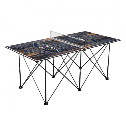 New Orleans Pelicans Pop Up 6' Ping Pong Table
