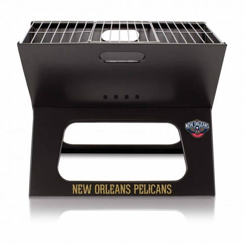 New Orleans Pelicans Portable Charcoal X-Grill