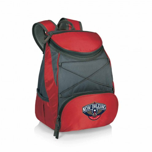 New Orleans Pelicans Red PTX Backpack Cooler