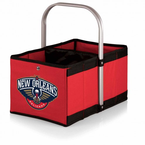 New Orleans Pelicans Red Urban Picnic Basket