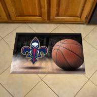 New Orleans Pelicans Scraper Door Mat