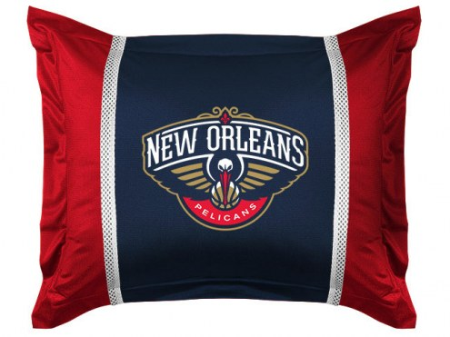 New Orleans Pelicans Sidelines Pillow Sham